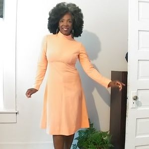 🌹Vintage Peach Dress Coming Soon